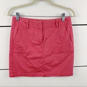 VINEYARD VINES Chino Mini Skirt Pink Size 2